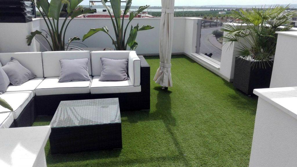 cesped artificial terrazas